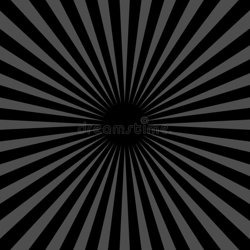 sunburst 02 vektor illustrationer