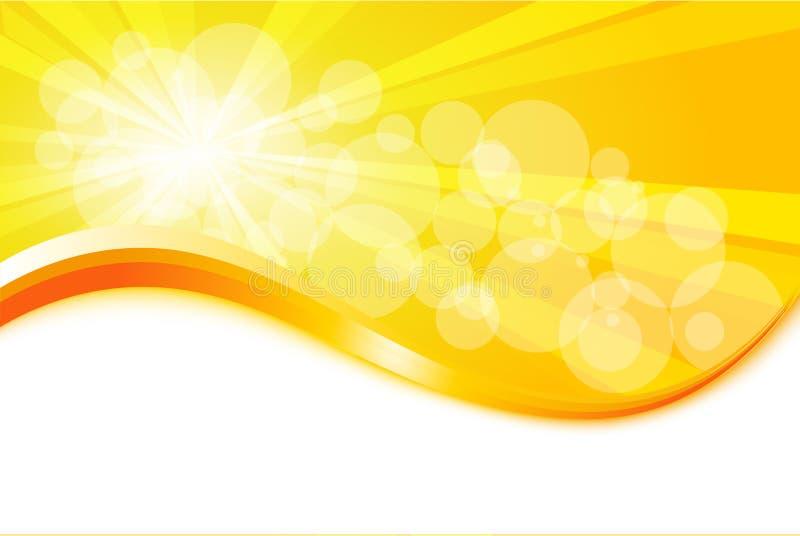 Sunburst royalty free illustration