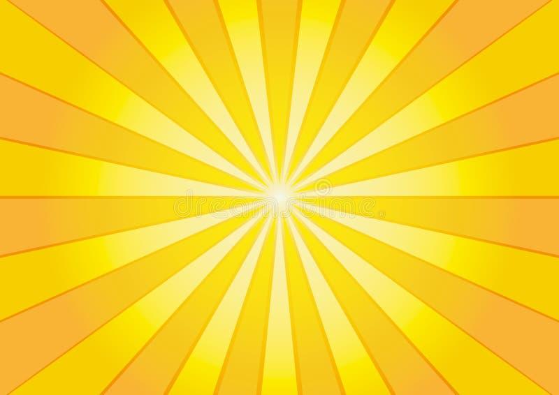 sunburst ilustracji