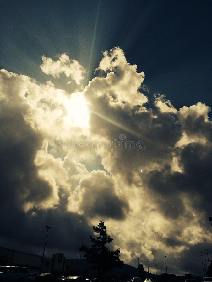 sunburst photographie stock libre de droits