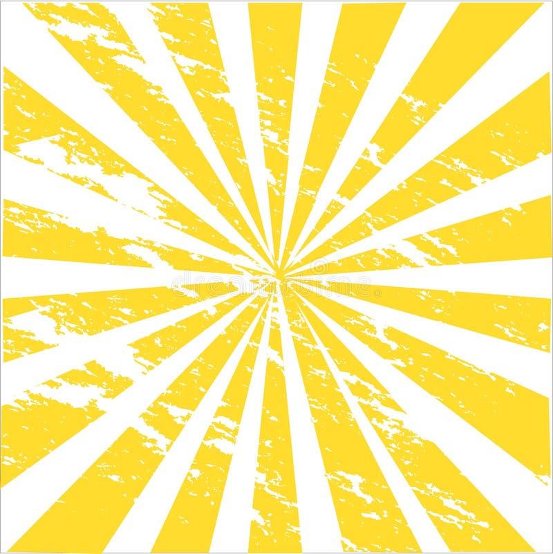 Sunburst ilustração do vetor