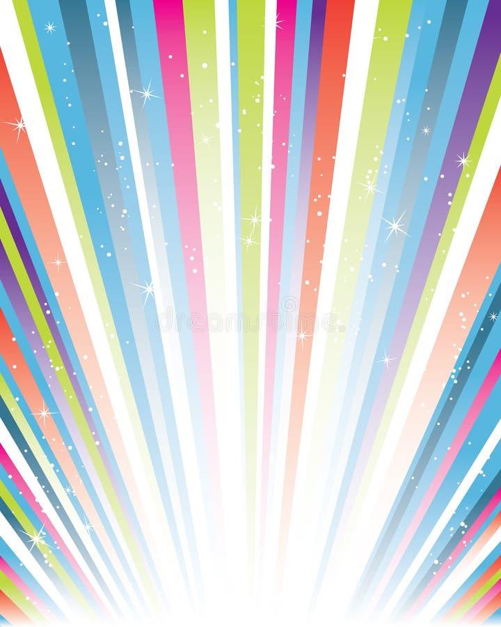 Download Sunburst stock vector. Illustration of glow, blue, color - 9183308