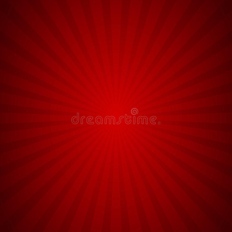 Sunburst background red ray texture graphic, Vector royalty free illustration