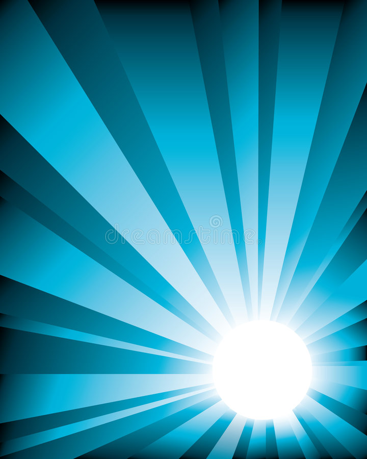Sunburst_bg5 royalty illustrazione gratis