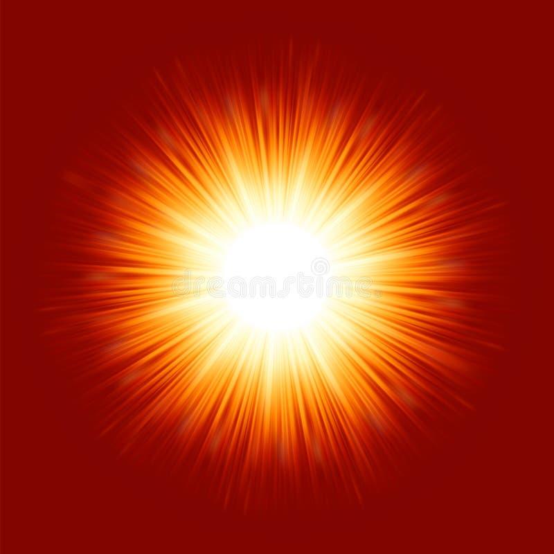Download Sunburst Rays Of Sunlight. EPS 8 Royalty Free Stock Photos - Image: 23481888