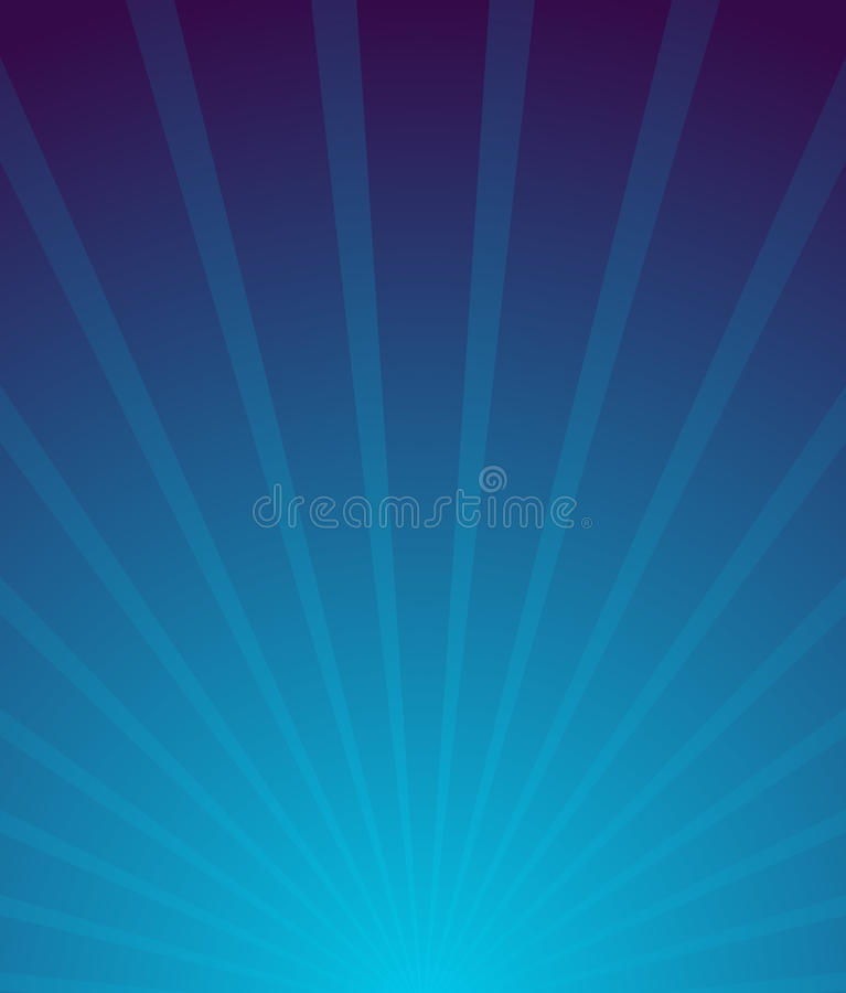 Sunburst, starburst background. Converging-radiating lines abstract background in vertical format. Flyer, poster, placard stock illustration