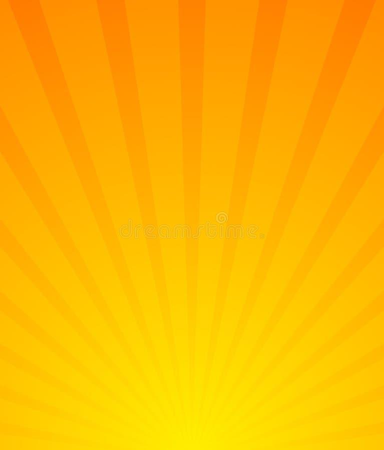 Sunburst Starburst bakgrund Konvergera-utstråla linjer abstr royaltyfri illustrationer
