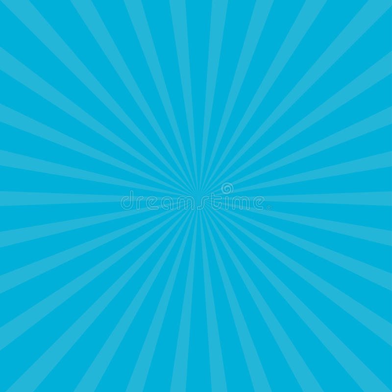 Sunburst starburst with ray of light. Blue color. Template Abstract background. Flat design. vector illustration