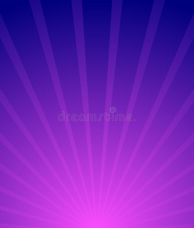 Sunburst, Starburst tło Promieniować linii abstr royalty ilustracja