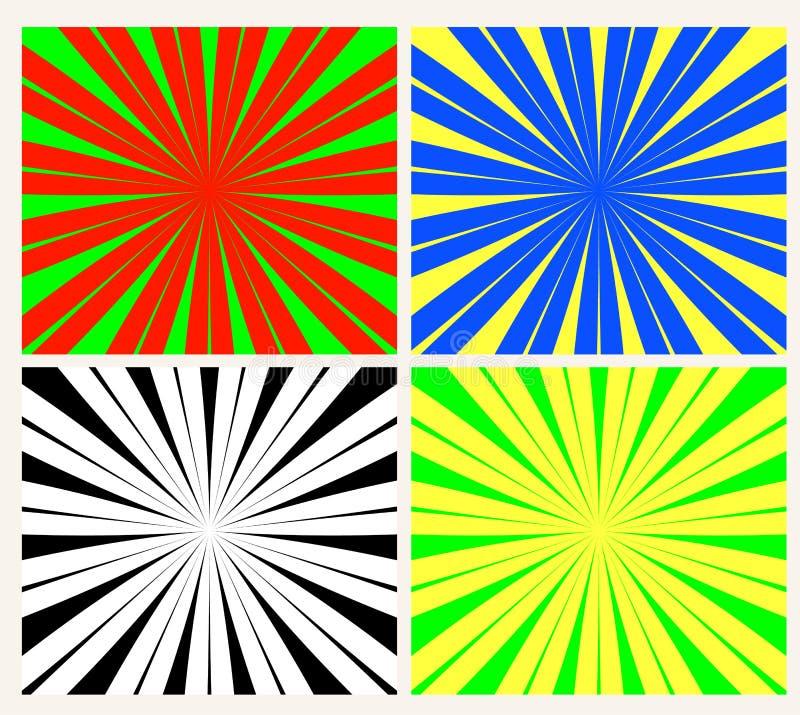 sunburst vector στοκ φωτογραφίες με δικαίωμα ελεύθερης χρήσης