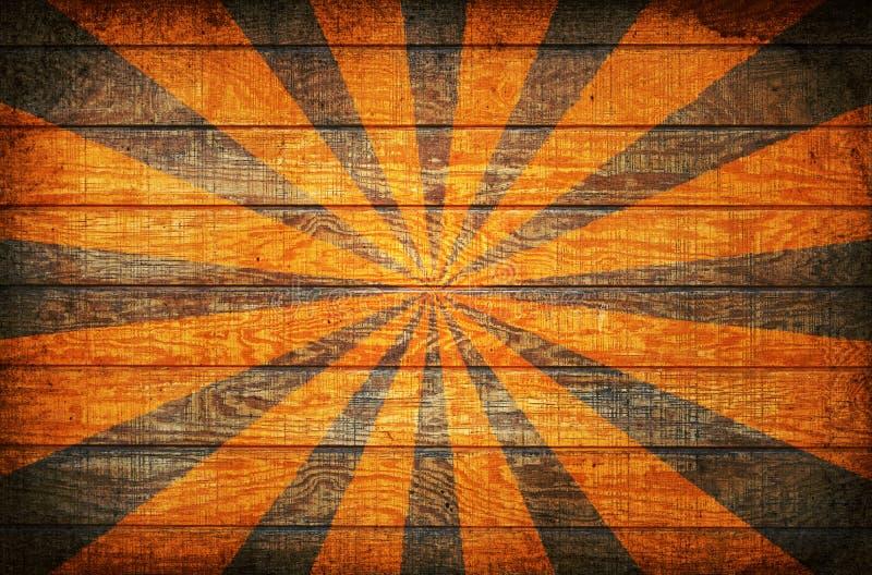 sunburst wood ελεύθερη απεικόνιση δικαιώματος