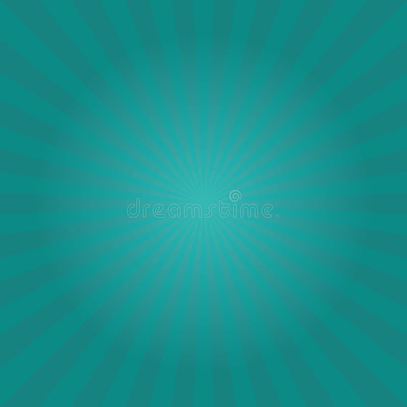 Sunburst wzór royalty ilustracja