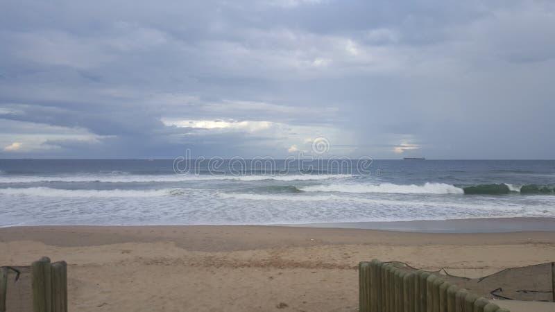 Suncoast Durban plaża zdjęcie stock