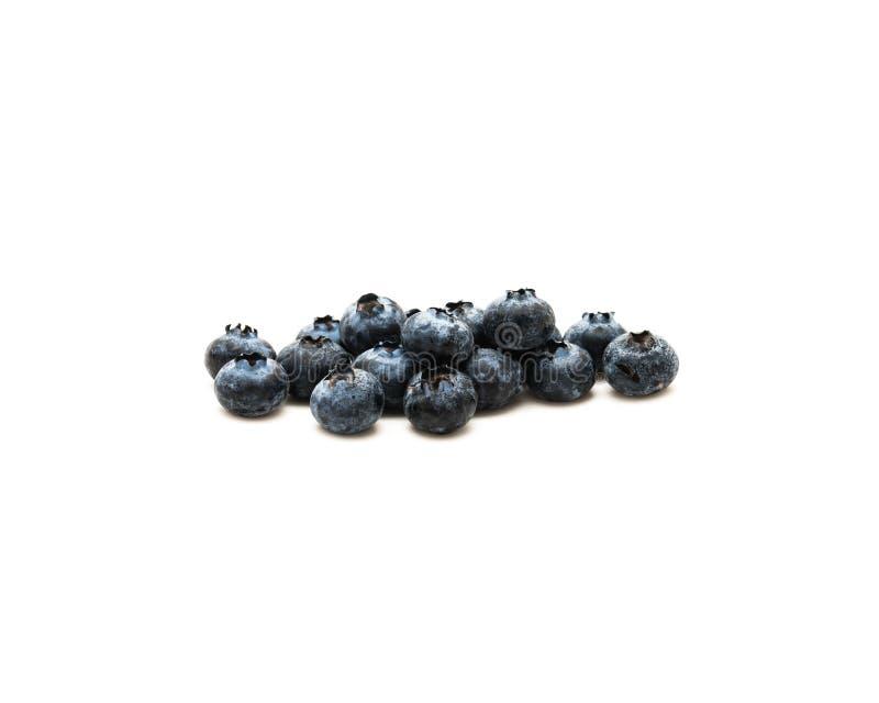 Sund antioxidantfrukt för blåbär som isoleras på vit royaltyfri bild