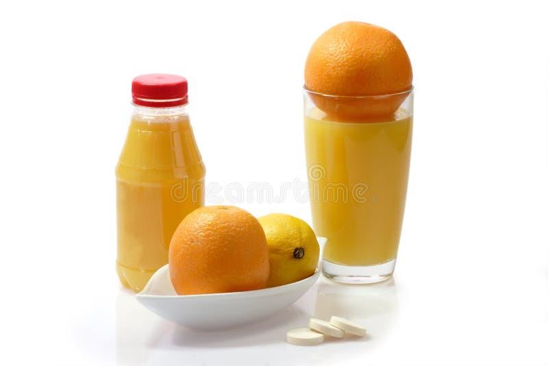 sund citronorange arkivbilder