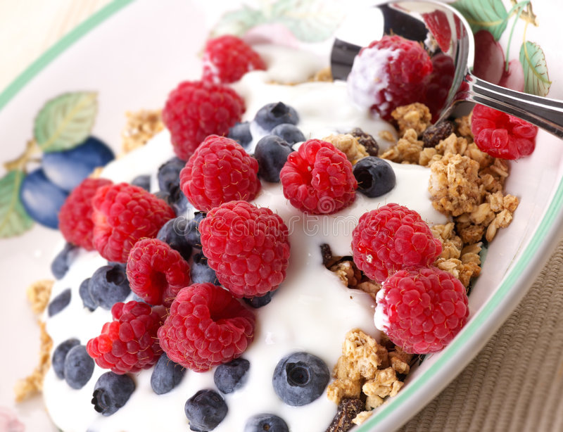 sund frukost fotografering för bildbyråer