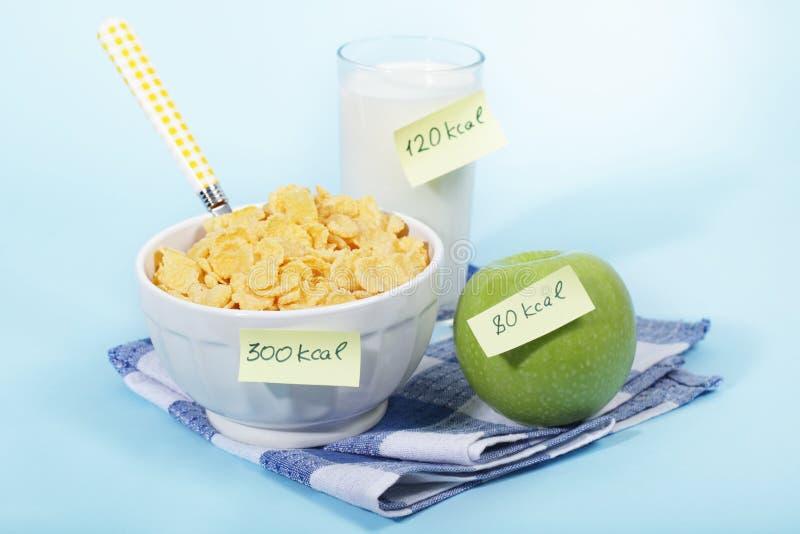 sund frukost arkivfoton