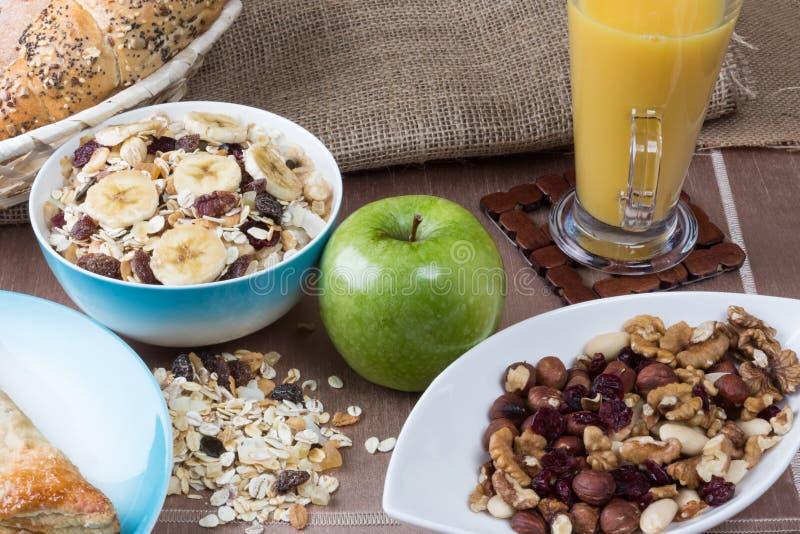 sund frukost arkivbild