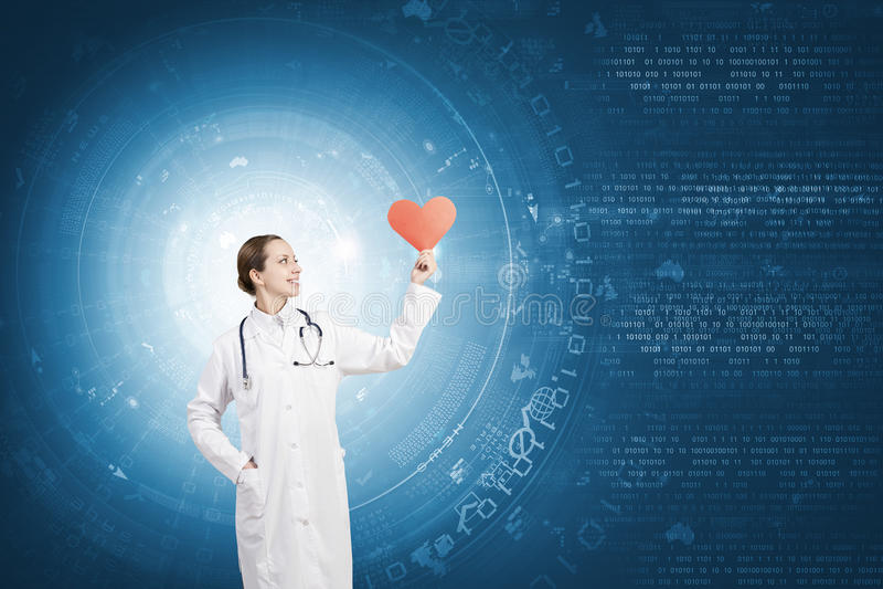 sund hjärta arkivbilder