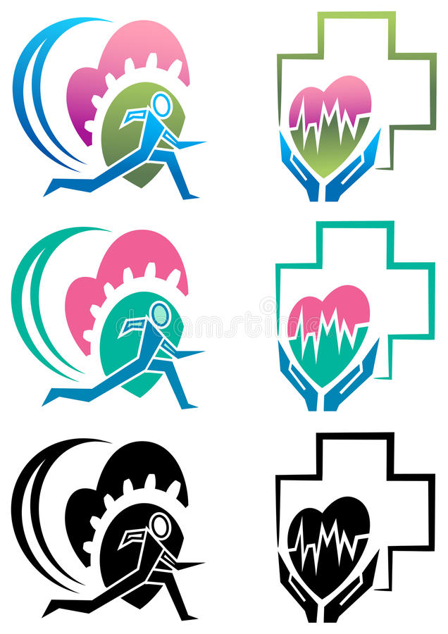 sund körning vektor illustrationer