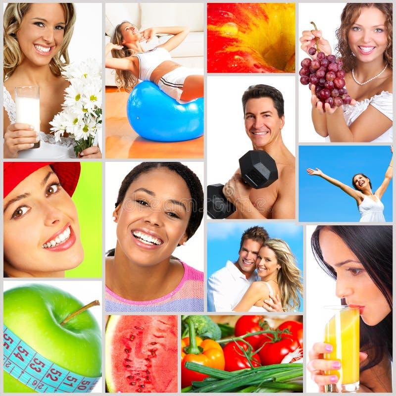 sund livsstil royaltyfri foto