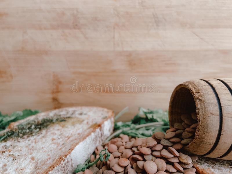 Sund mat för Writte in Restaurangbaner Strikt vegetarianmat arkivfoto