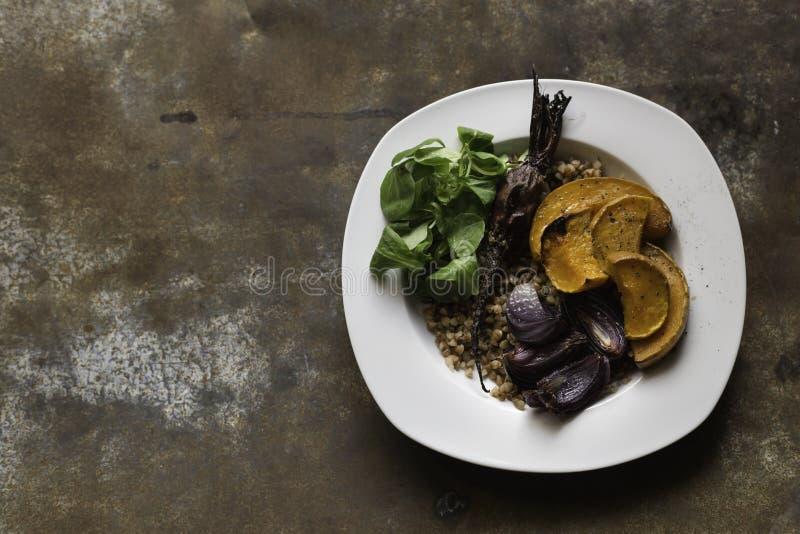 Sund mat i minsta royaltyfri fotografi