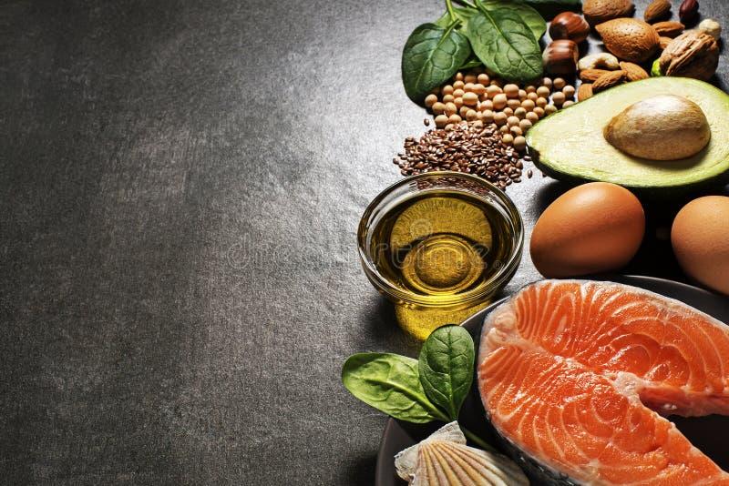 Sund mat med laxfisken royaltyfri foto