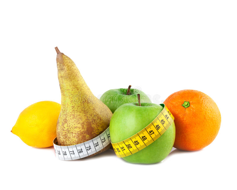 Sund matviktförlust royaltyfria foton