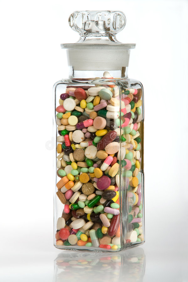 sund medicin för dos arkivfoton