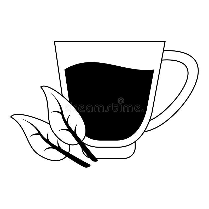 Sund och allsidig mattecknad film i svartvitt vektor illustrationer