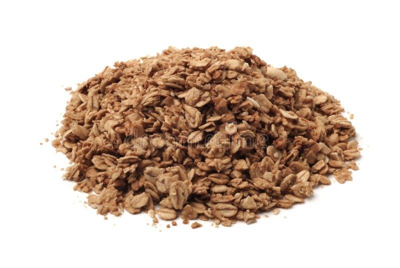 sund stapel för granola arkivfoto