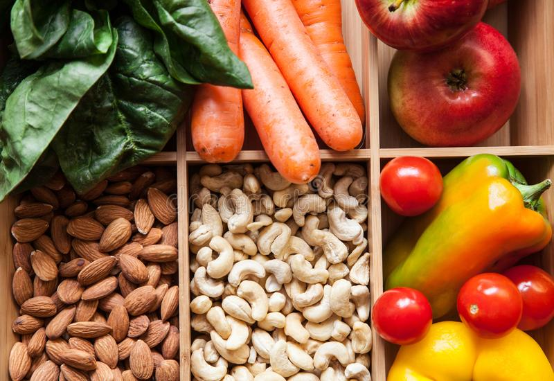 Sunda foods på magasinet fotografering för bildbyråer