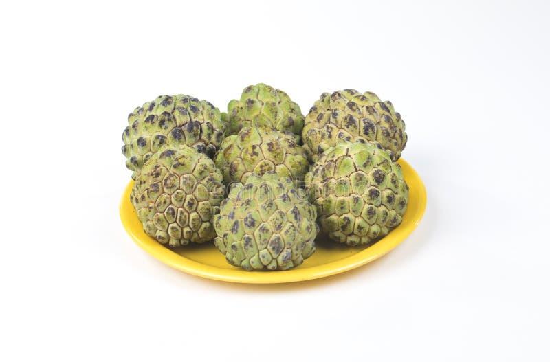 Sunda frukter Sitafal royaltyfri fotografi