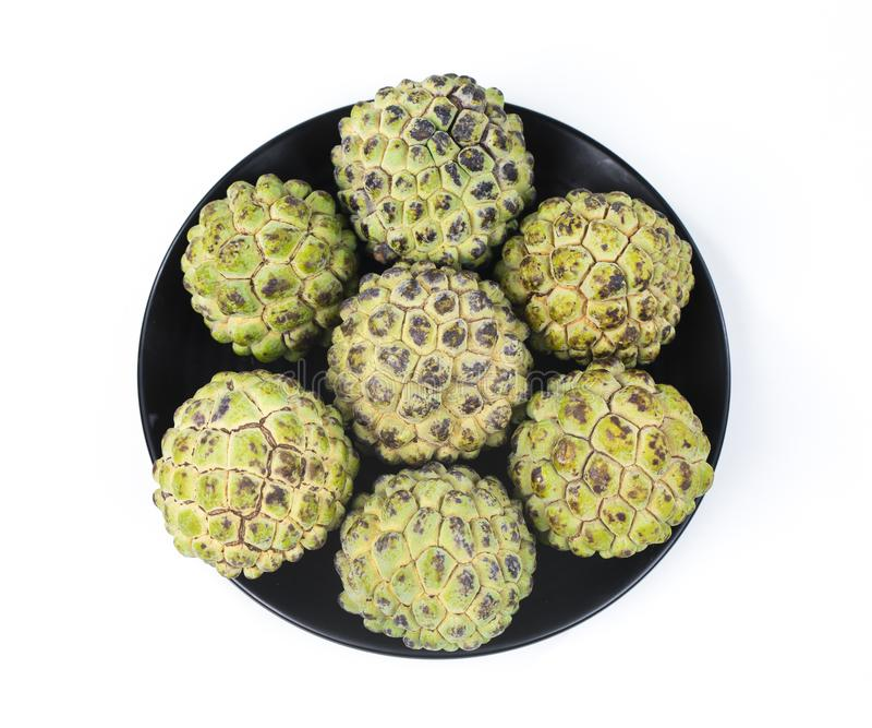Sunda frukter Sitafal royaltyfri foto