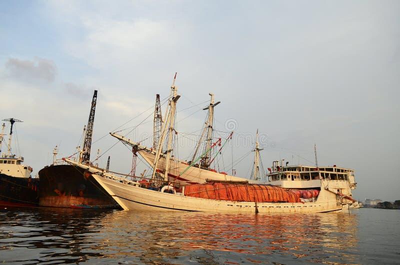 Sunda Kelapa zdjęcie royalty free
