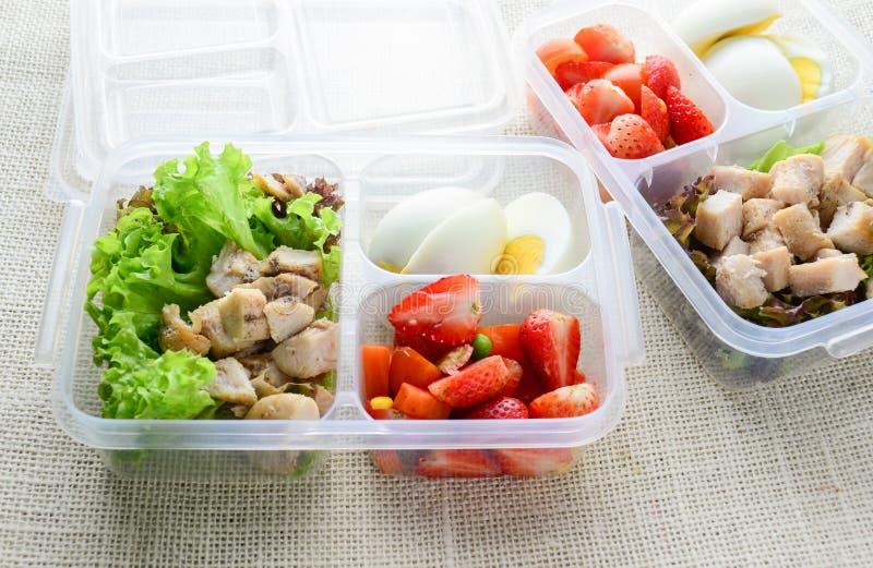 Sunda och rena foods royaltyfri bild