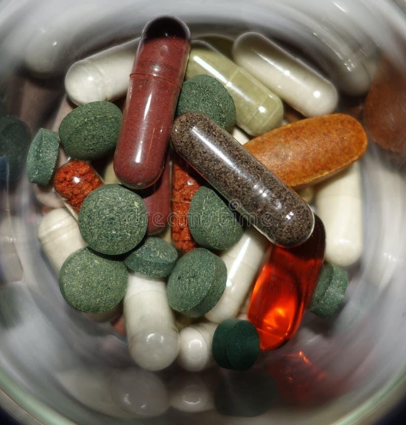 sunda supplements för mat royaltyfri foto