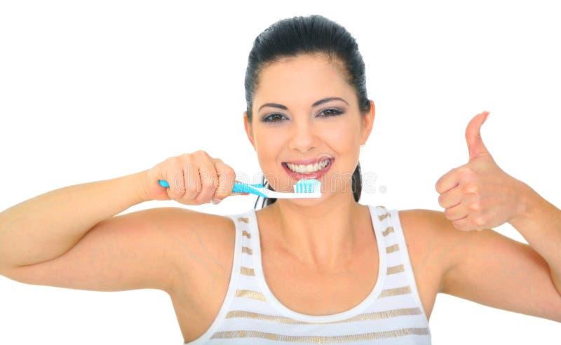 sunda tänder royaltyfria bilder