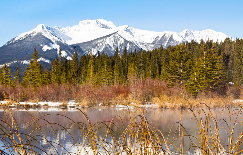 Download Sundance Mountains And Lake Vermilion Stock Image - Image: 30601075