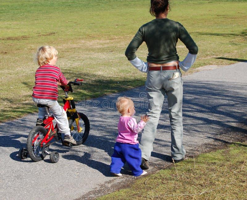 Download Sunday in the Park stock photo. Image of motherhood, newborn - 597848