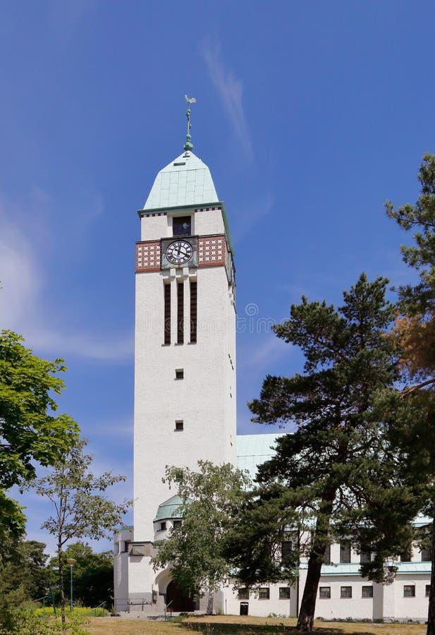 Sundbyberg教会 免版税库存图片