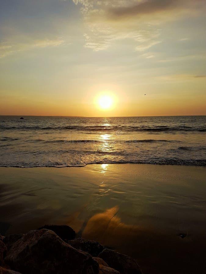Sundet colan plaża fotografia royalty free