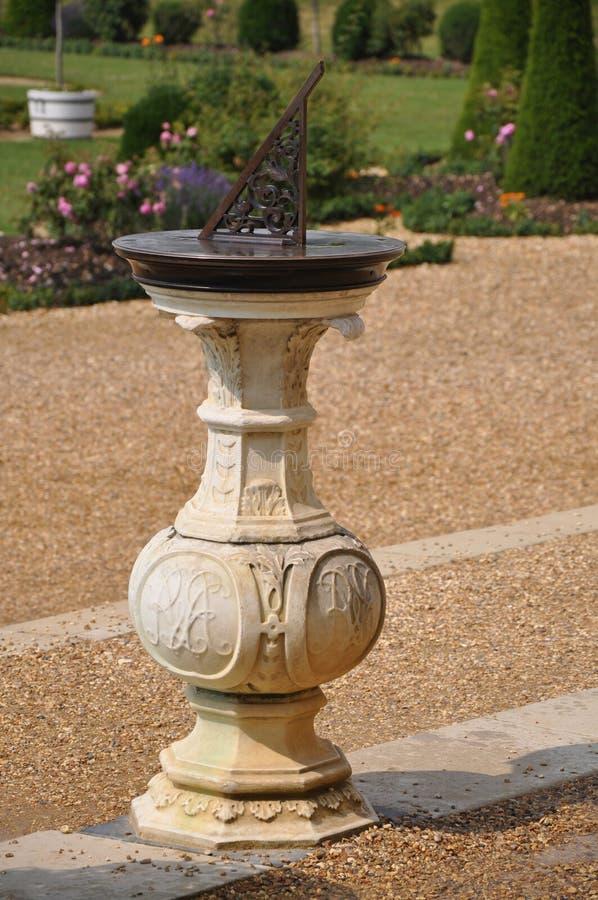 sundial дворца hampton суда стоковое изображение