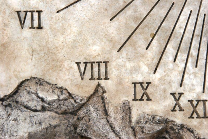 sundial макроса стоковые фото