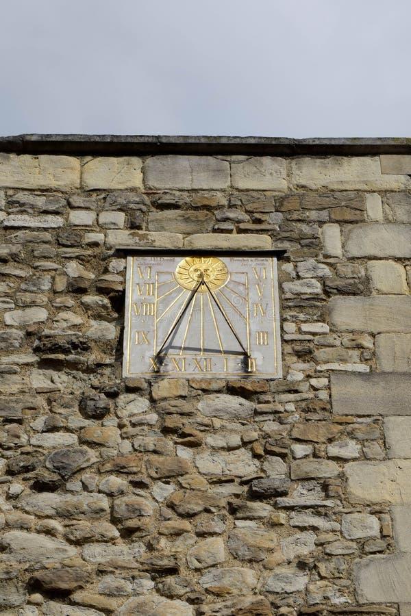 sundial stock afbeelding