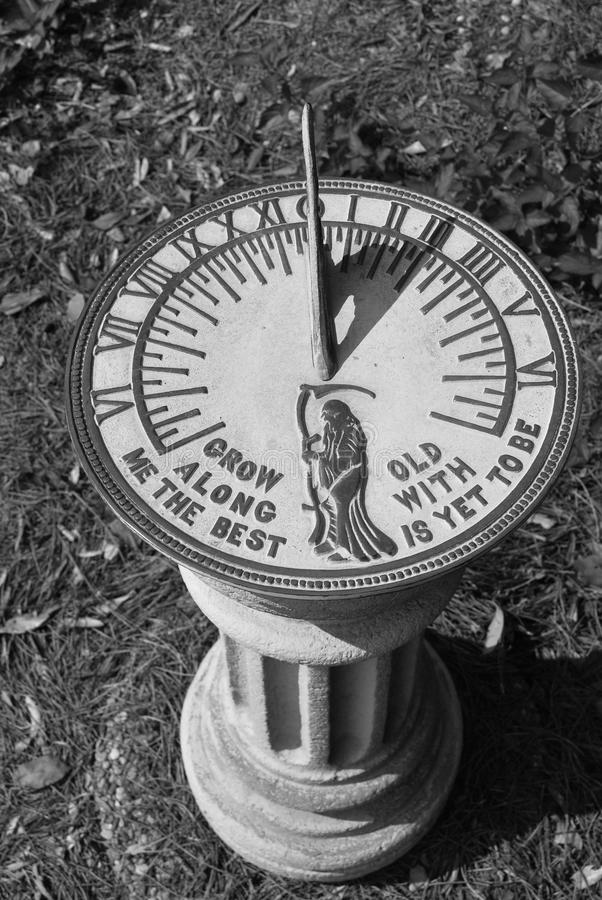 Sundial fotografia de stock royalty free