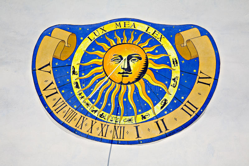 Sundial immagine stock libera da diritti