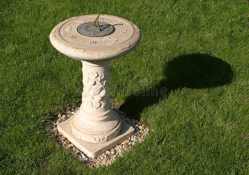sundial royaltyfria foton