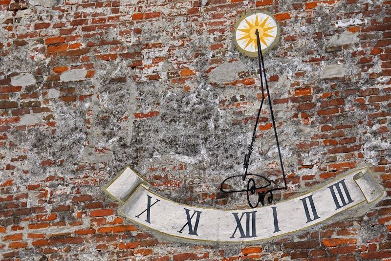 Sundial fotografie stock libere da diritti